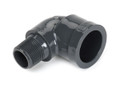 "1 1/2"" 90° Street Elbow Mipt x Slip PVC Fitting Schedule 80"
