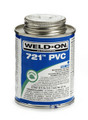 Weld-On Low VOC Solvent Cement GLUE, Blue, #721, 1 Quart