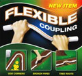 "Flexible Coupling, 1/2"" Diameter x 18"" in length"