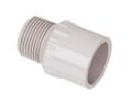 "1"" x 3/4"" Reducing Male Adapter Mipt x Slip PVC UVR Fitting"