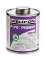 "Weld-On Primer, Purple, #P-70, Surface Prep, 1/2"" Pint"