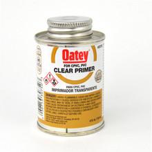 Oatey NSF Clear PVC / CPVC Primer - 1/4 Pint (30750)