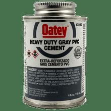 Oatey Heavy Duty Gray Cement - 1/4 Pint (31093)