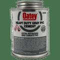 Oatey Heavy Duty Gray Cement - 1/2 Pint (31094)