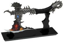 "Amazingly Designed Dragon Fantasy Axe 14"""