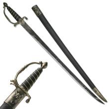 """Antique Bronze Finish Pirate Sword 38"""""""