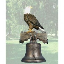 Liberty Bell Eagle 19.25'' Height