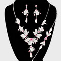 Leaf Crystal Neck Set