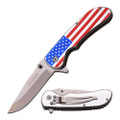 Flag Spring Assist Knife