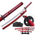 Triple Sword Set with Stand