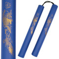 "12"" Blue Foam Nunchucks"