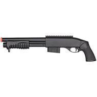 Double Eagle 350 FPS Pump Action Spring Airsoft Shotgun Gun