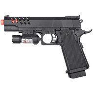 UKArms M1911 Tactical Spring Airsoft Pistol Gun With Laser