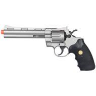 UKArms .357 Magnum Silver Revolver Spring Airsoft Pistol Gun