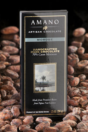 Handcrafted dark chocolate made from exotic cocoa beans from southwest Papua New Guinea