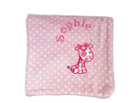 Pink Supersoft Donkey Fleece Blanket