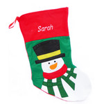 Personalised Santa Sock - Snowman