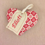 Handmade Personalised Christmas Decoration - Snowflake