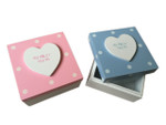 Wooden My First Tooth Keepsake Box - Pink