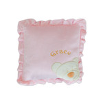 Personalised Pink Cushion