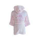 Personalised Pink Childrens Dressing Gown