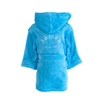 Personalised Blue Childrens Dressing Gown