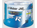 Victor JVC BD-R 4x 25GB 50-pack Spindle Blu-ray Discs
