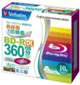 Verbatim (Mitsubishi) BD-R DL 6x 50GB 10-pack Blu-ray Discs