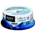 Sony BD-R 6x 25GB 25-Spindle of Blu-ray Discs