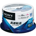 Sony BD-R 6x 25GB 50-Spindle of Blu-ray Discs