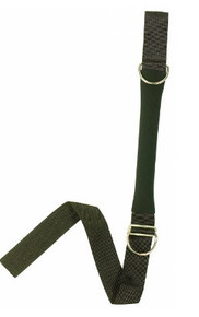 "CROTCH STRAP - 2"" W/ SS RING & PAD"