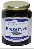 Old Fashioned Blueberry Preserves 18oz - Item of the Month - Save 75 cents per jar!