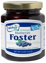 Blueberries Foster