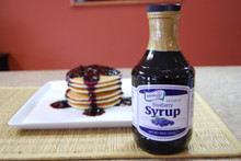 Gourmet Blueberry Syrup 20oz.