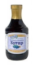 Gourmet Blueberry Amaretto Syrup 20oz.