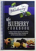 The Blueberry Cookbook (122 pages)