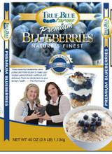 Frozen Blueberries. Fresh Frozen Blueberries