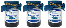 Old Fashioned Blueberry Preserves 3pk.