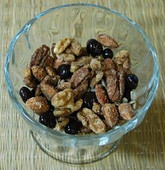 Campfire Mix - Trail Mix with Dark Chocolate Covered Blueberries