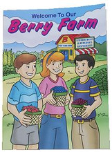 Berry Farm Coloring Book