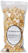 Chocolate Yang Yin - Dark Chocolate Covered Blueberries & Caramel Corn
