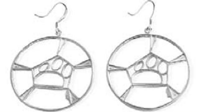 Classic Guitar / Cello Hoop Earrings