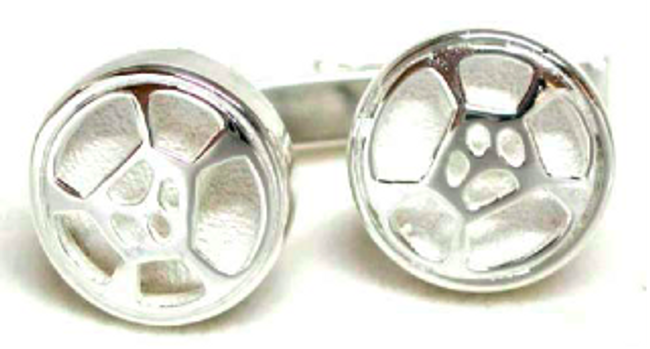 Classic Guitar / Cello Hoop Cuff Links