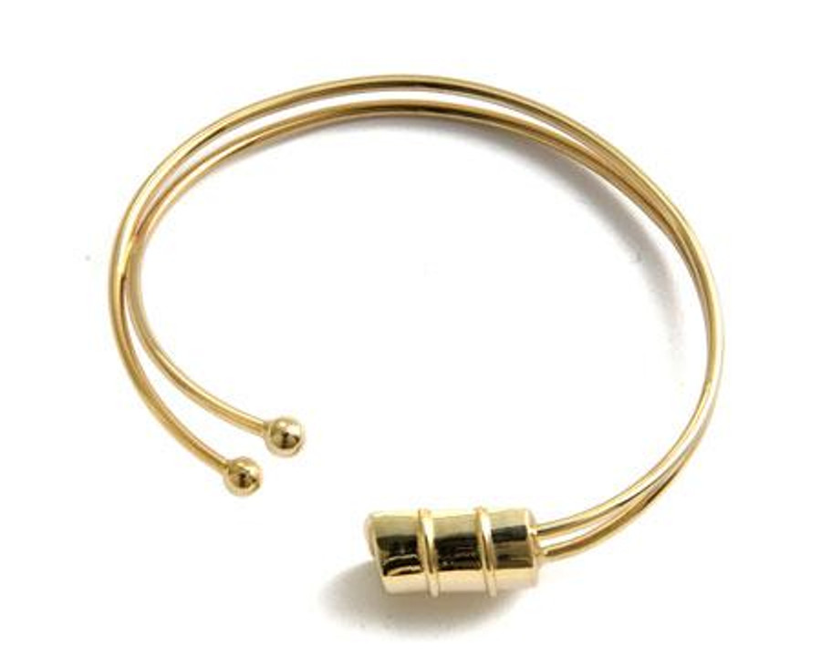 Genesis Bass Drum Gold Bracelet -Small Drum