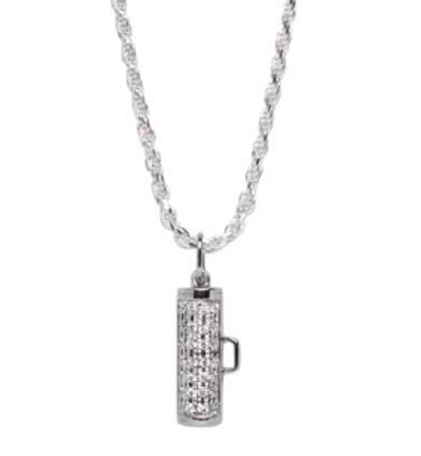 Showtime Pave Pendant -Small