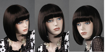 Wig 041: Dark Brown - chin level