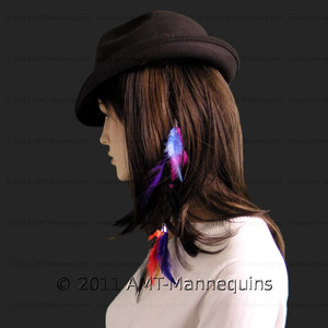 Feather Set - Style 01 With Clips - 3 Set