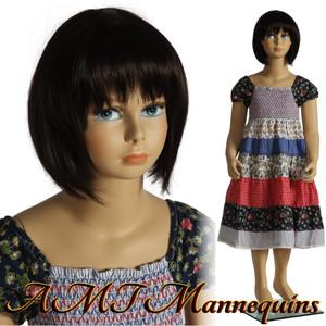 Mannequin Female Standing Child Model Molly