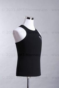 Dress Form Torso White - Male (metal base)