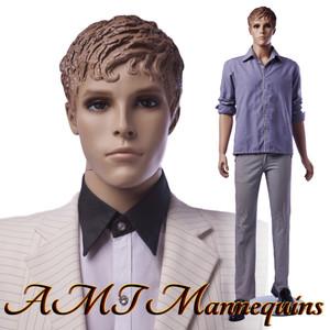 Mannequin Male Standing Model Kevin (Plastic)